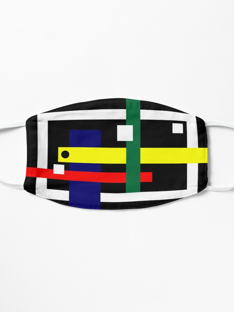 Alternate view of Mbranco Artist Design #1 Mask