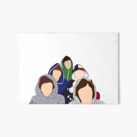 1D Video Diary Art Board Print