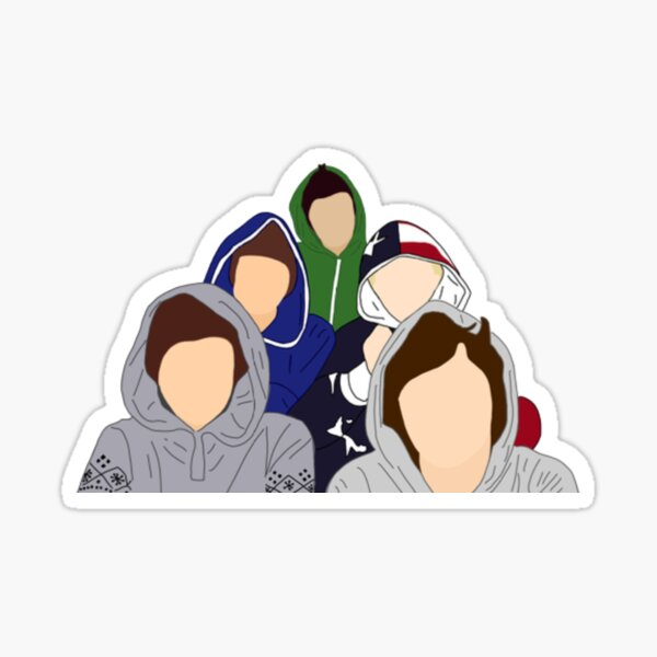 1D Video Diary Sticker
