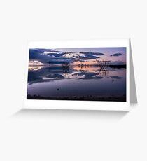 Lake Menindee Greeting Card