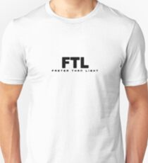 FTL: Faster than Light (Black) T-Shirt