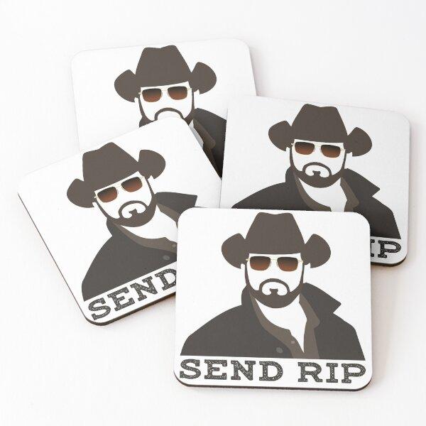 Send Rip 2 Coasters (Set of 4)