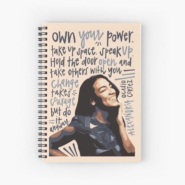 AOC. Spiral Notebook