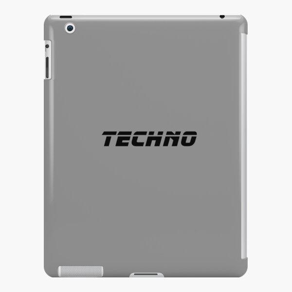 Techno #techno02 iPad Snap Case