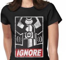 IGNORE Womens Fitted T-Shirt