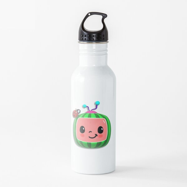 Cocomelon Sticker, Face Mask - Melon and Ladybug - Cute Water Bottle
