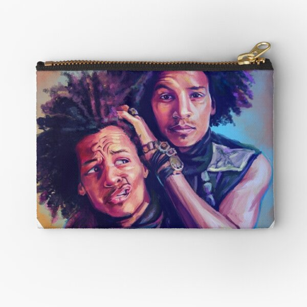 Les twins Zipper Pouch