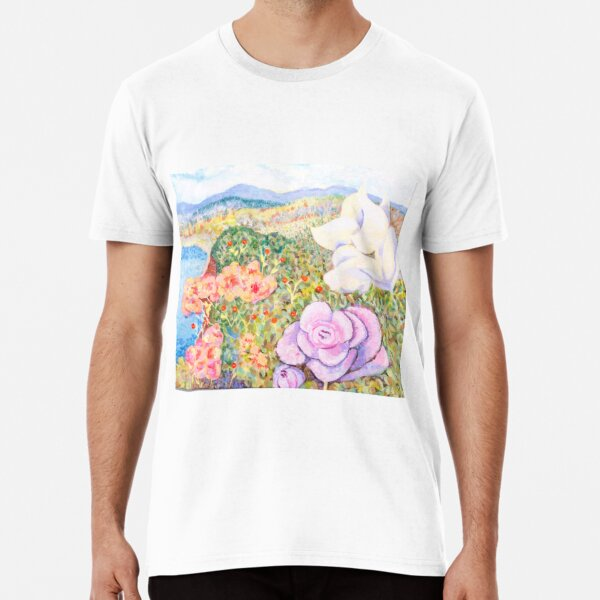Fleurs Volubiles T-shirt premium