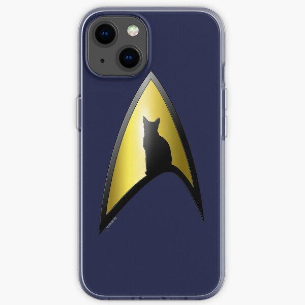 Starfleet Cat iPhone Soft Case