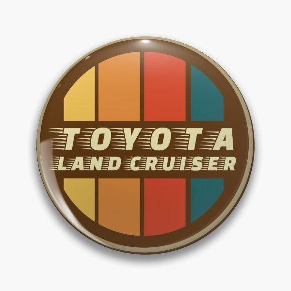 FJ Cruiser Toyota Landcruiser Yellow Lapel Pin Badge