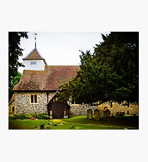 St Mary's Sulhamstead Abbots Photographic Print