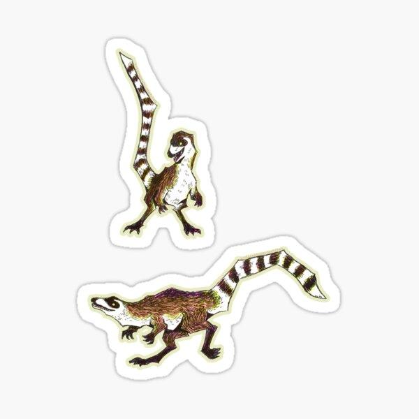 Sinosauropteryx  Sticker