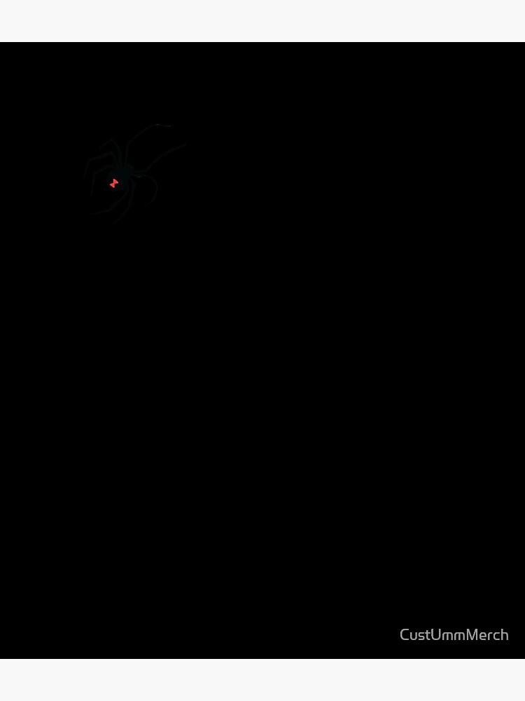 Black Widow Spider by CustUmmMerch