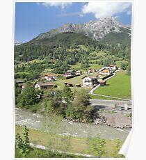 Somewhere between Zurich and Innsbruck Poster