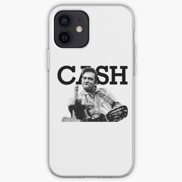 Johnny cash Coque souple iPhone