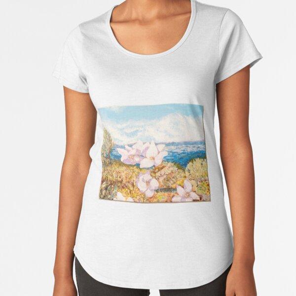 Défi: vent doux T-shirt premium échancré