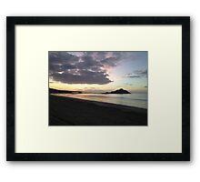 St Michaels Mount at Sunrise Framed Print