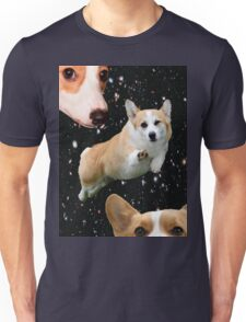 corgis in space Unisex T-Shirt