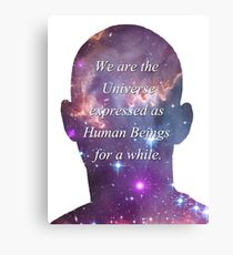 Human Beings - Universe Canvas Print