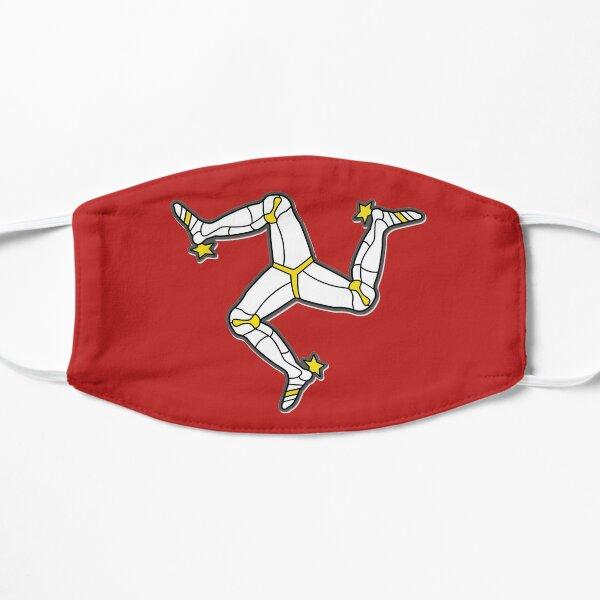 Isle Of Man 3 Legs Of Man Traditional Manx Flag Celtic Triskelion Flat Mask