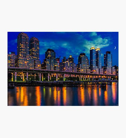 The West Side Highway At Dusk Photographic Print
