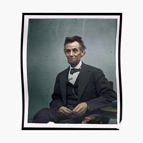 President Abraham Lincoln Poster