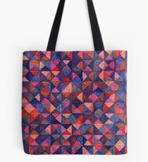 Abstract Art Study Shades of Purple Tote Bag