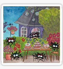 Garden Idyll Sticker