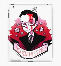 James Moriarty - Miss me? iPad Case/Skin