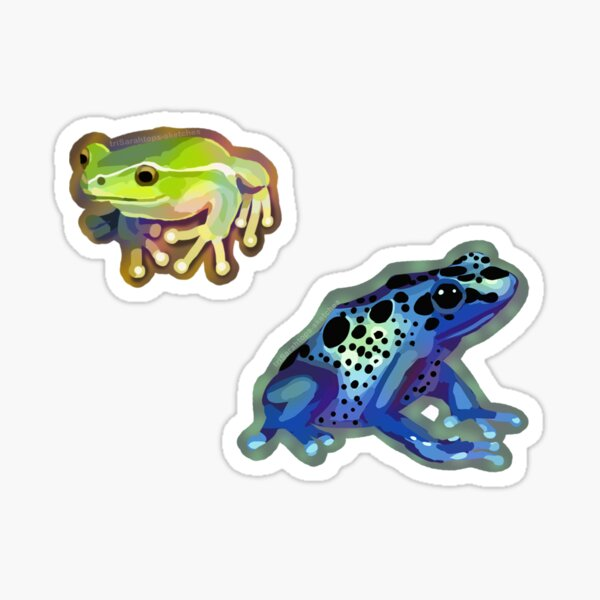 Frogs Sticker