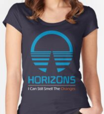 Horizons - I Can Still Smell The Oranges (Dark Colors) Women's Fitted Scoop T-Shirt