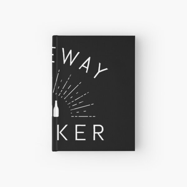 DRIVEWAY DRINKER - gift Hardcover Journal