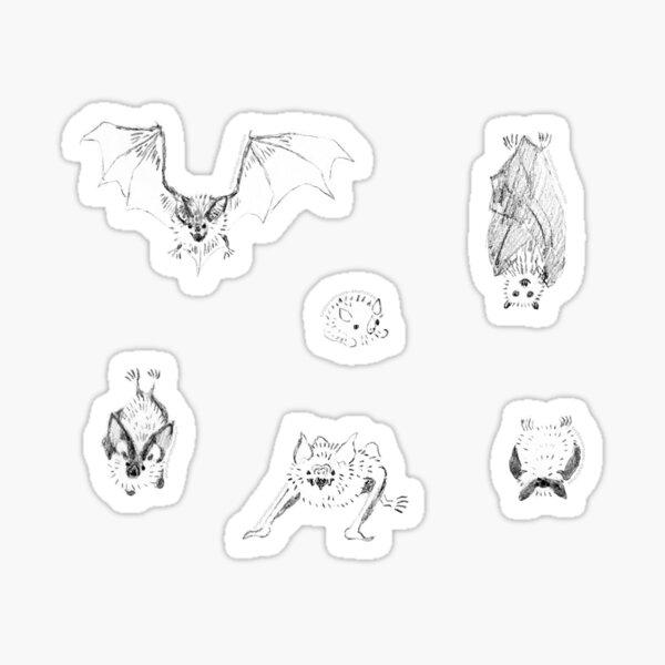 Little bats Sticker