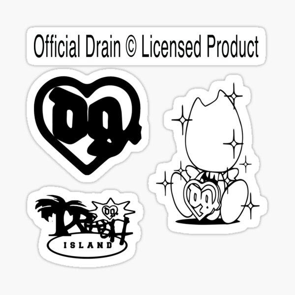 Drain Gang Sticker Pack Sticker