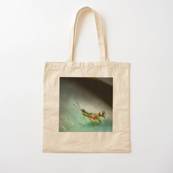 Fractured Spring 6 Cotton Tote Bag