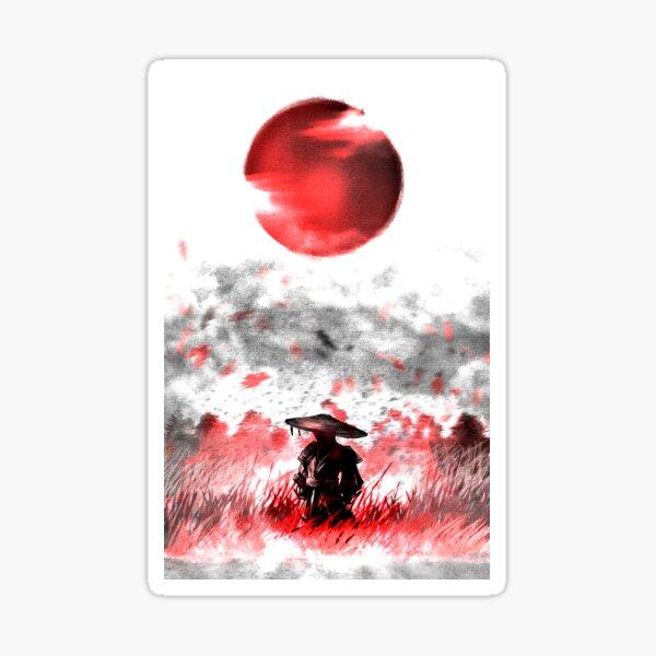 Ghost of Tsushima- The Ghost (No Logo) Sticker