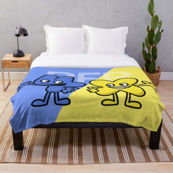 BFB 4 and X design Throw Blanket