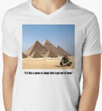 """Karl Pilkington - """"It's like a game of Jenga that's got out of hand"""" T-Shirt"""