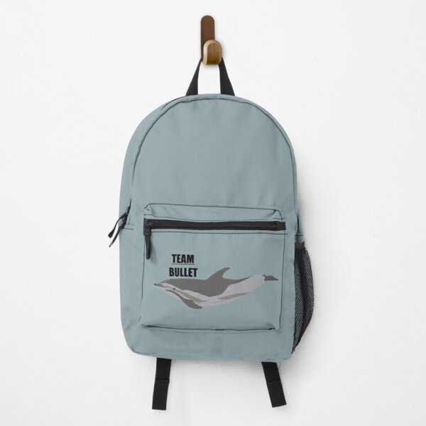 """Team Bullet"" the hybrid dolphin Backpack"