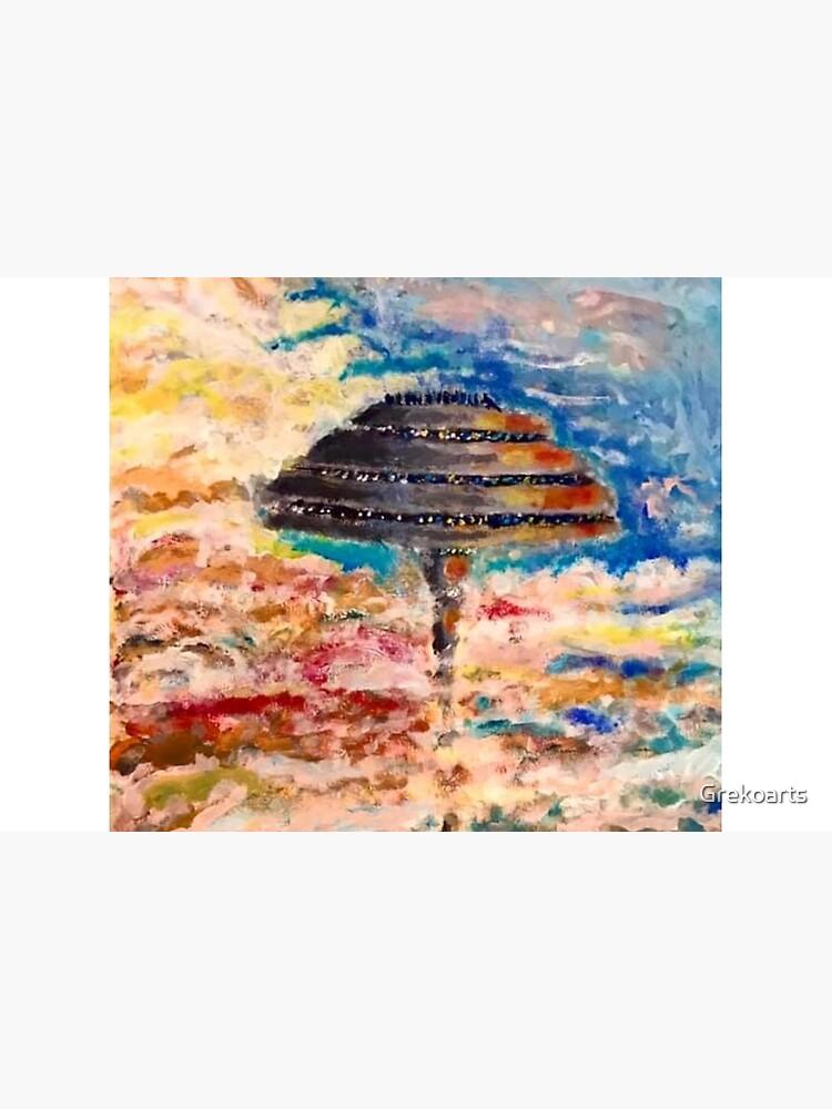 Cloud city by Grekoarts