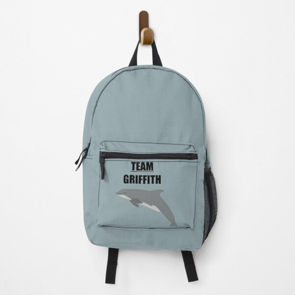 """""""Team Griffith"""" the bottlenose dolphin Backpack"""