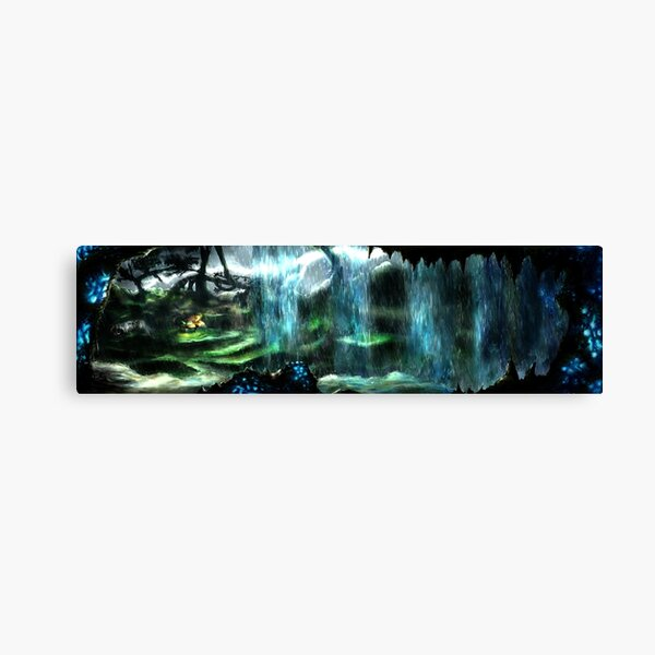 Metroid Metal: Tallon Overworld- Where it all begins Canvas Print