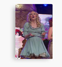 Peter Pan on stage at West End Live Canvas Print