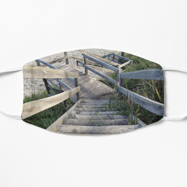Staircase to the waters edge Mask