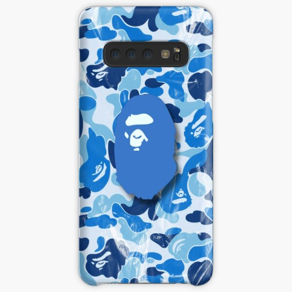Blue Bape Ape Samsung Galaxy Snap Case
