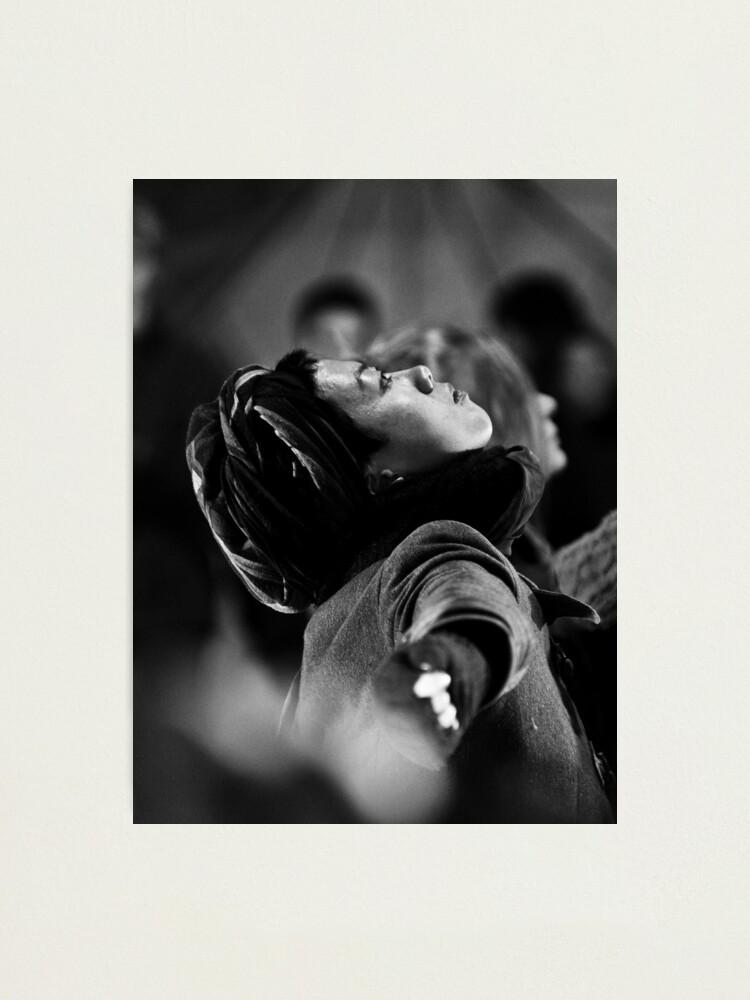 Alternate view of Light in Winter - Street Theatre Portrait #4 Photographic Print