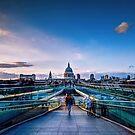 St Paul from millenium bridge by mjamil81