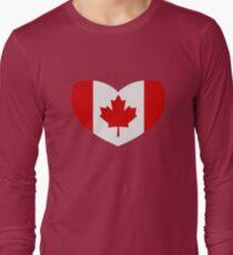 Love Canada Long Sleeve T-Shirt