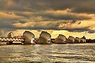 Thames Barrier by Jasna