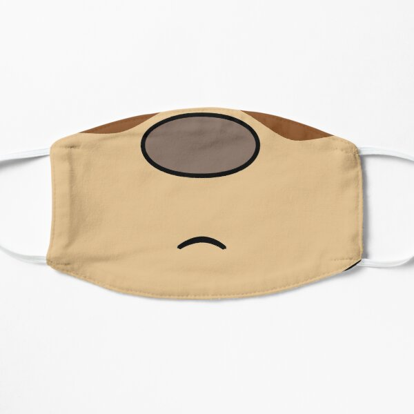 Frowning monkey face mask Mask